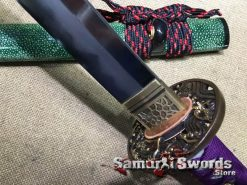 Katana-Sword-Damascus-Steel-Clay-Tempered-with-Hadori-Polish004