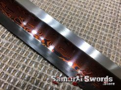 Red-Blade-Tanto-Damascus-Steel-004