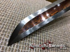 Red-Blade-Tanto-Damascus-Steel-005