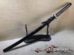 Samurai Katana 1060 Carbon Steel with Black Saya