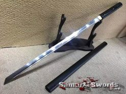 Shirasaya Sword T10 Clay Tempered Steel