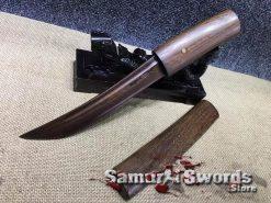 Shirasaya-Tanto-1095-folded-red-Steel-004