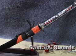 T10-Damascus-Steel-Katana-Sword-012