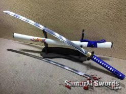 9260 Spring Steel Samurai Katana Sword with Phoenix Saya