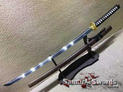 Japanese Katana T10 Clay Tempered Steel