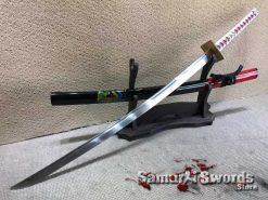 Samurai Katana 9260 Spring Steel