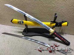 Samurai Wakizashi 1060 Carbon Steel