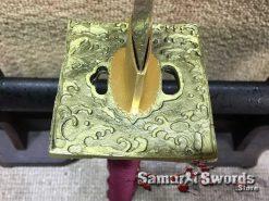 Square Brass Tsuba
