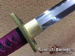 T10 Folded Clay Tempered Ninja sword