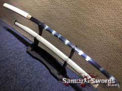 Battle Ready Shirasaya Katana T10 Clay Tempered Steel