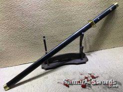 Ebony Wood Ninja Sword for Sale
