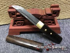 Shirasaya Tanto 1095 Folded Steel