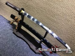 T10 Clay Tempered Wakizashi Sword