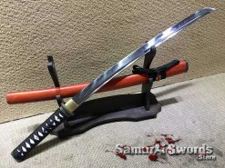 Wakizashi T10 Clay Tempered Steel