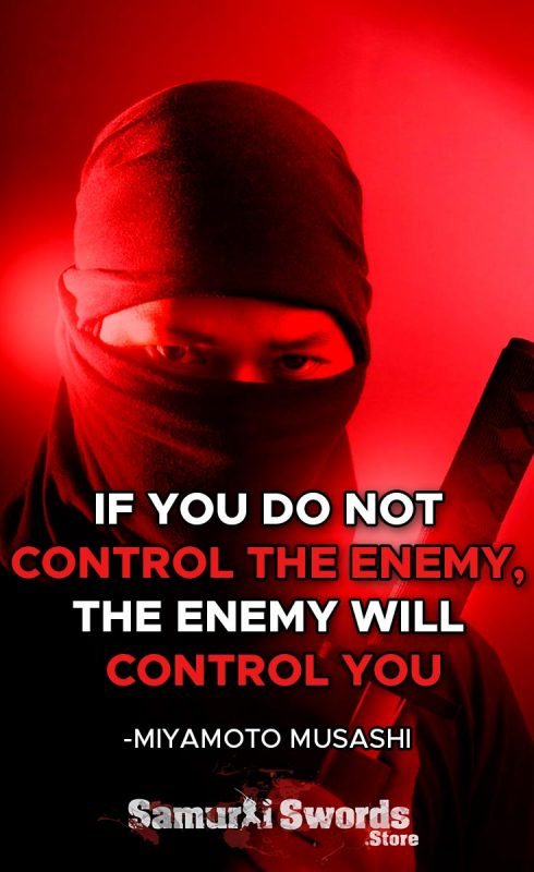If you do not control the enemy
