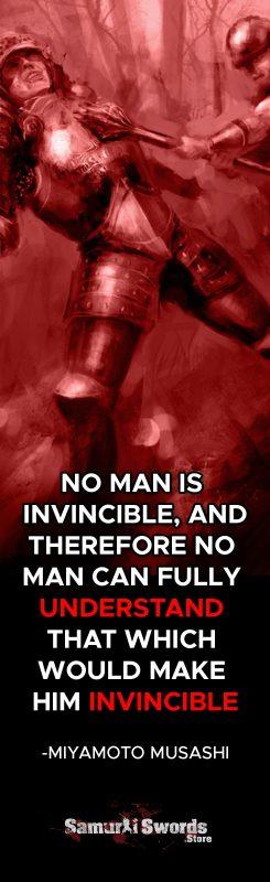 No man is invincible