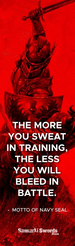 The more you sweat in training