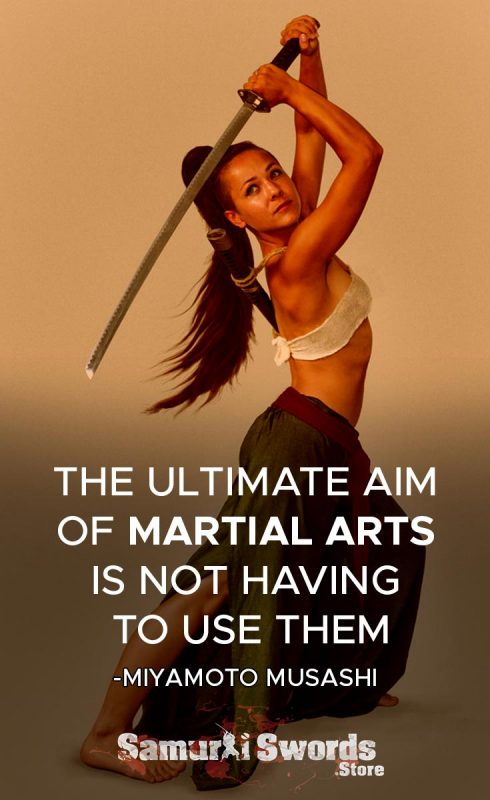 The ultimate aim of martial arts is not having to use them. - Miyamoto Musashi