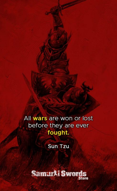 All wars are won or lost before they are ever fought. - Sun Tzu