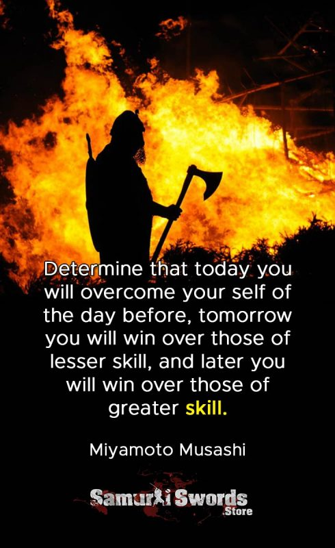 Determine that today you will overcome your self of the day before