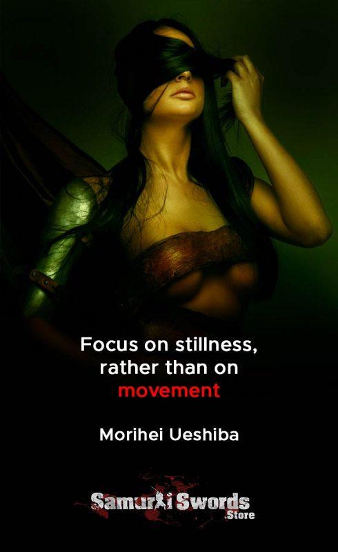 Focus on stillness