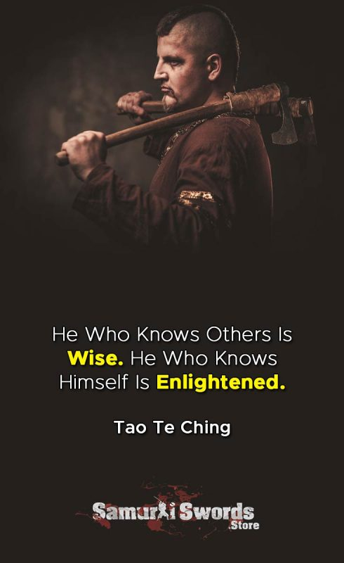 He Who Knows Others Is Wise. He Who Knows Himself Is Enlightened. - Tao Te Ching