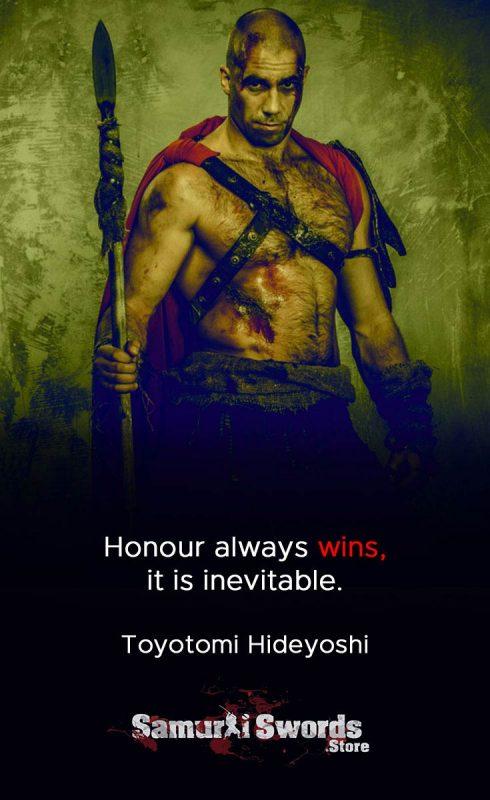 Honour always wins