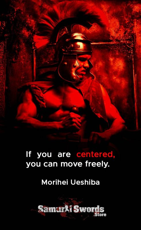 If you are centered
