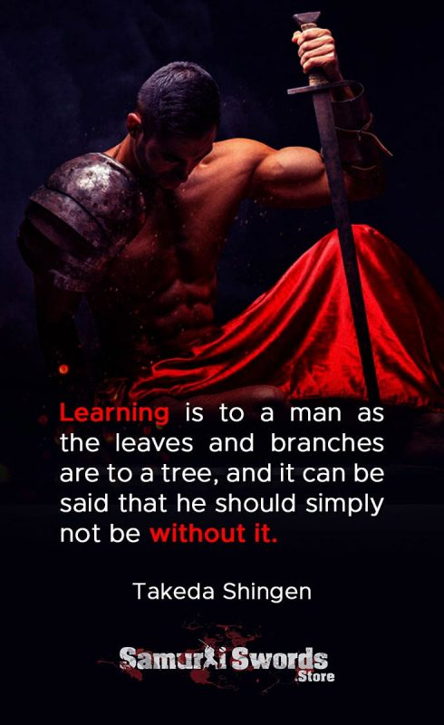 Learning is to a man as the leaves and branches are to a tree