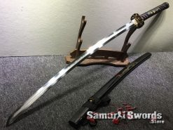 Battle Ready Katana Choji Hamon T10 Clay Tempered Steel with Hadori Polish (1)