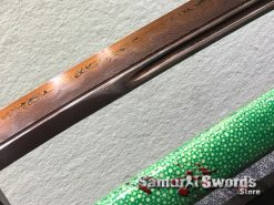 Battle Ready Katana T10 Clay Tempered Steel with Hadori Polish and Red acid Dye (13)