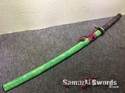 Battle Ready Katana T10 Clay Tempered Steel with Hadori Polish and Red acid Dye (16)
