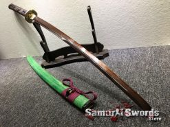 Battle Ready Katana T10 Clay Tempered Steel with Hadori Polish and Red acid Dye (5)