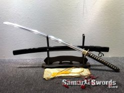 Fully Functional Katana T10 Clay Tempered Steel with Hadori Polish (5)