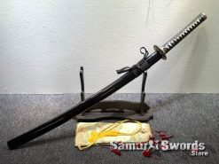 Fully Functional Katana T10 Clay Tempered Steel with Hadori Polish (7)