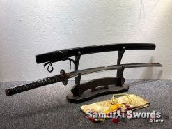 Fully Functional Katana T10 Clay Tempered Steel with Hadori Polish (8)