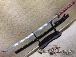 Handmade Nodachi Sword 9260 Spring Steel (4)