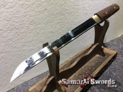 Tanto T10 Clay Tempered Steel Rosewood Saya (2)