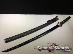 Black Blade Katana Sword