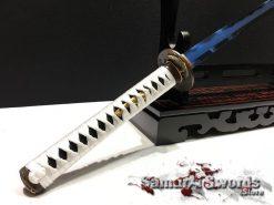 Blue blade katana