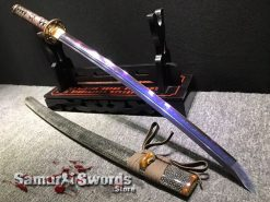 Purple Samurai Katana