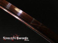 Red Blade Katana Sword
