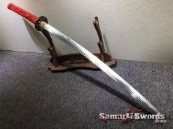 Samurai Katana Sword Tamahagane Steel