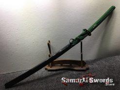 Samurai Katana with Double Edge