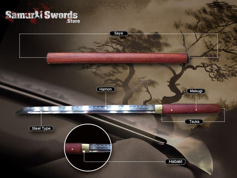 custom Shirasaya Sword