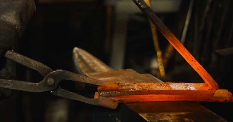 Folding steel